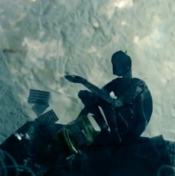 """Ausschnitt aus dem Musikvideo von """"In My Head"""" vom Jazz Trio """"Luumu"""" komponiert von Adina Friis."""